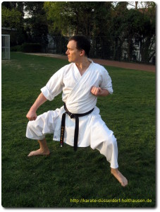 Karate Düsseldorf - Kata Gekisai dai Ichi