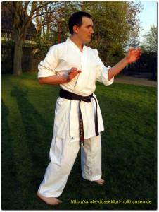 Karate Düsseldorf - Kata Gekisai dai Ni