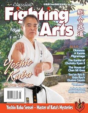 Yoshio Kuba Sensei Okinawa Goju Ryu 10 Dan