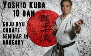 Lehrgang mit Yoshio Kuba 10.Dan Goju-Ryu Karate