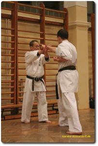 Goju-Ryu Karate Lehrgang mit Hanshi Yoshio Kuba