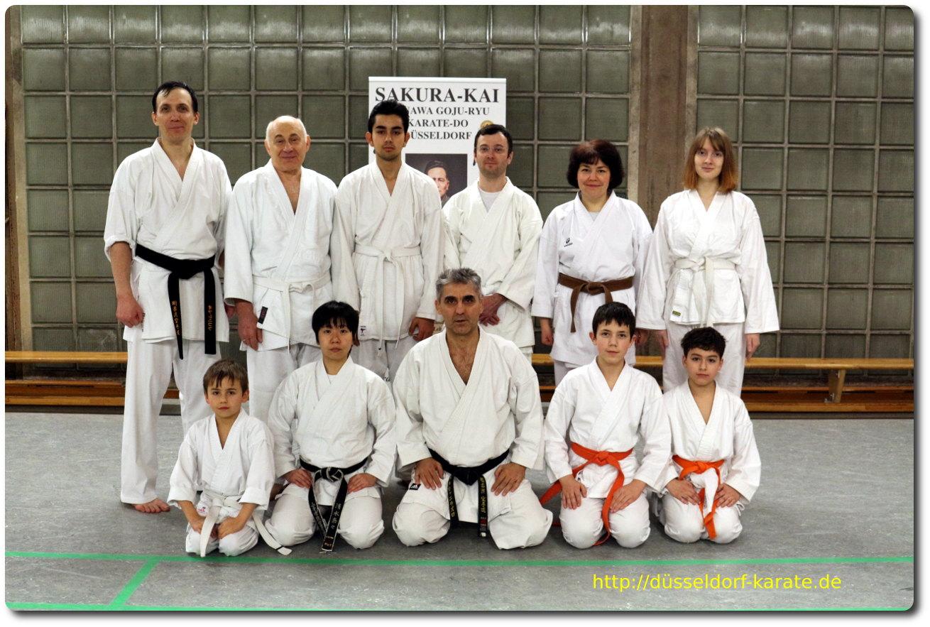 Karate Sakura-Kai Düsseldorf Lehrgang Sensei Laszlo Harsanyi