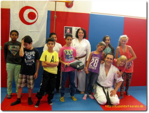 Karate-Düsseldorf-Training-Arche-2015-Kinder