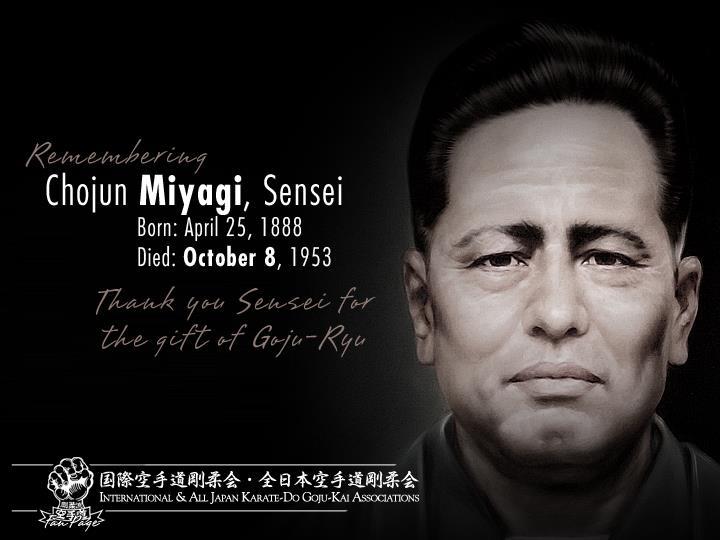 Chojun Miyagi Sensei Goju-Ryu