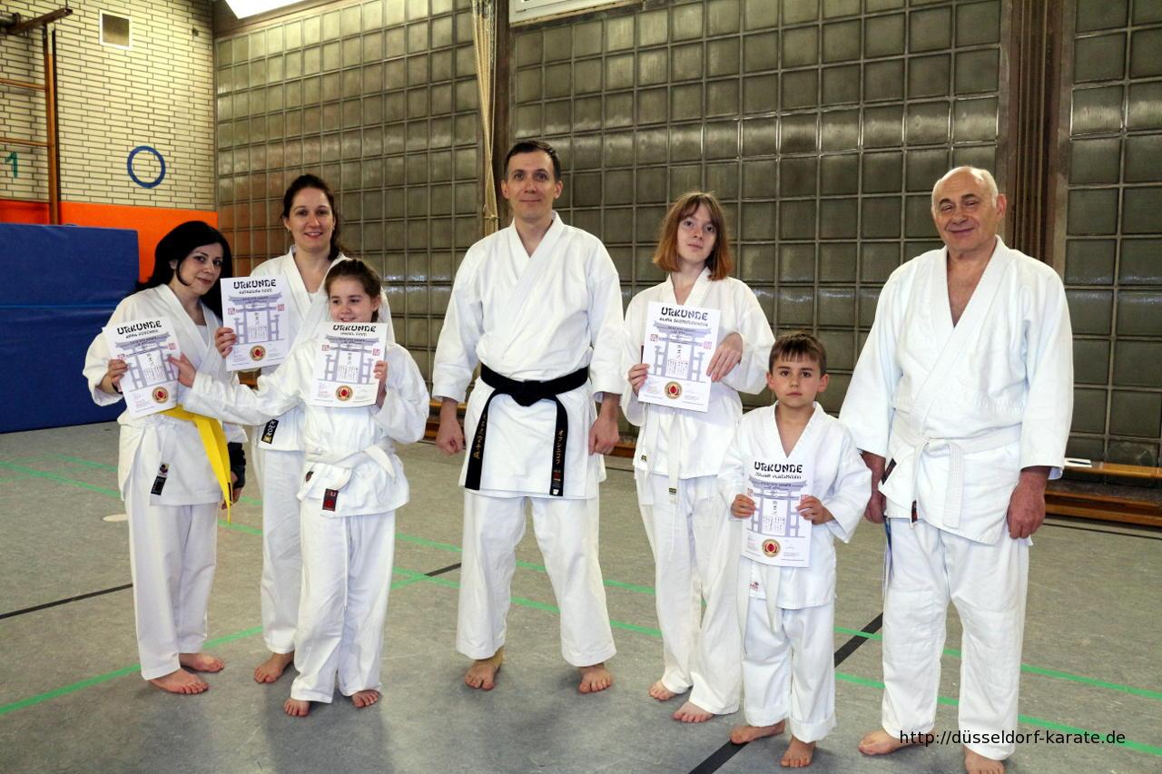 Karate Sakura-Kai Düsseldorf Prüfung