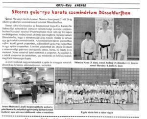 Karate-Düsseldorf-Zeitschrift-Magyar-BUDO-2