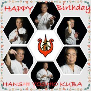 Hanshi-Yoshio-Juba-Geburtstag