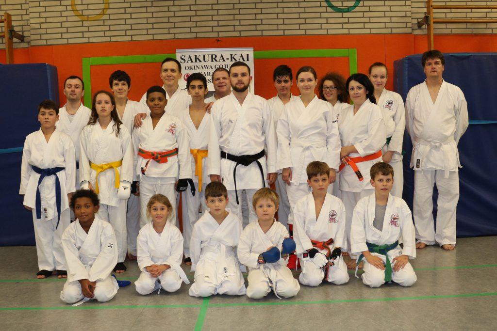 Gemischte Karategruppe Düsseldorf 2017
