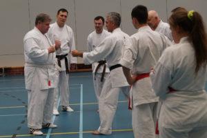 Sakura-Kai Karate Lehrgang Belgien 2018