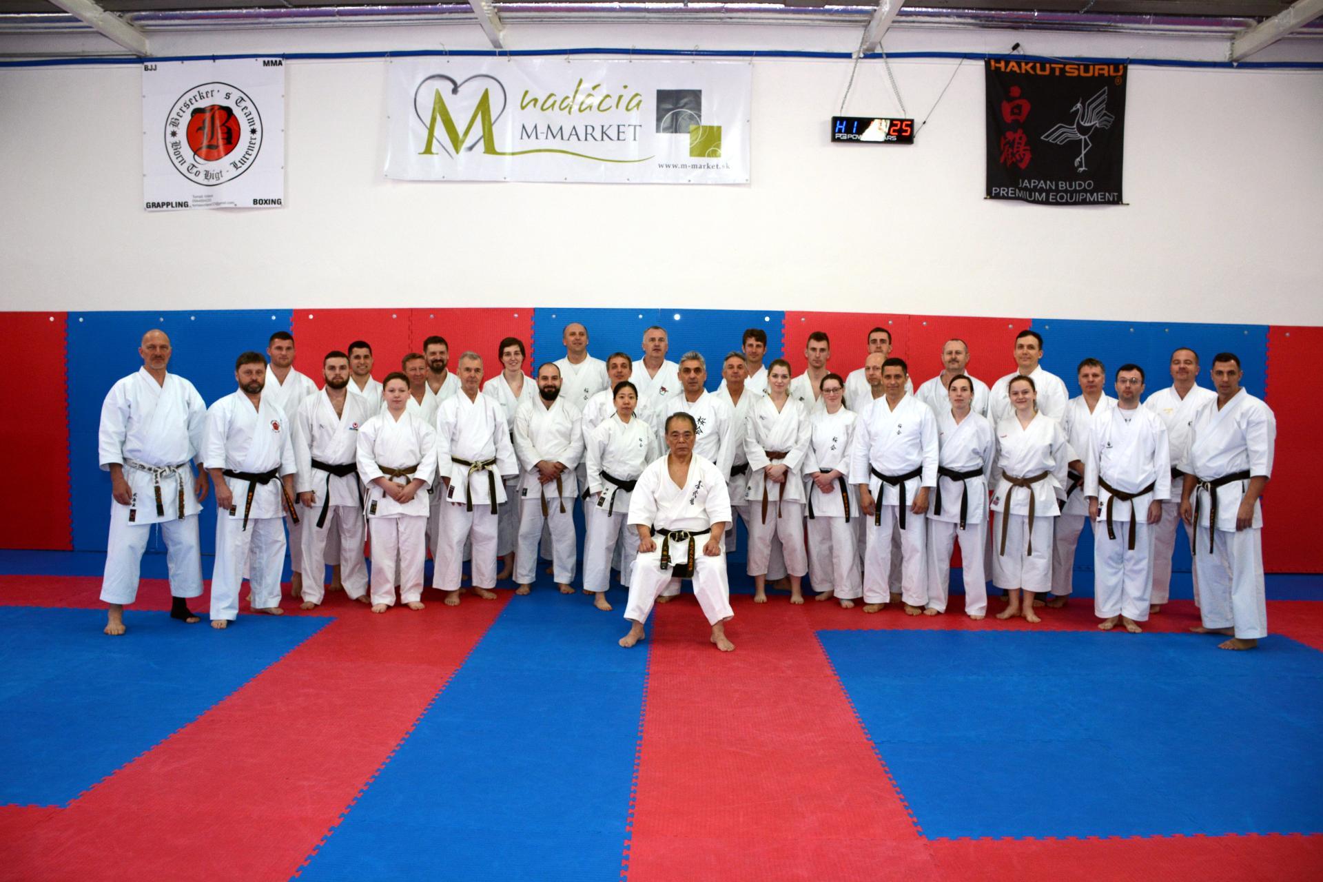 Karate-Lehrgang-mit-Yoshio-Kuba-Lucenec-2019-1